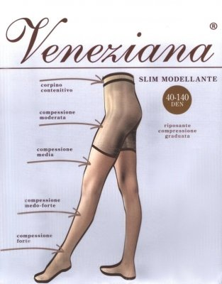 Rajstopy Veneziana Slim 40