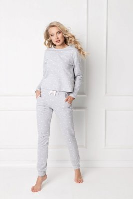 Piżama damska Aruelle Dres Hearty Set Grey