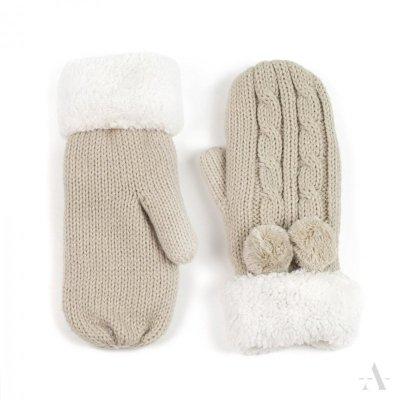Rękawiczki Art of Polo Antarktyda Beżowe