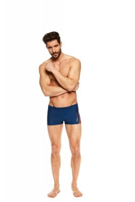 Kąpielówki męskie Henderson Karat 36836-55X Niebieskie