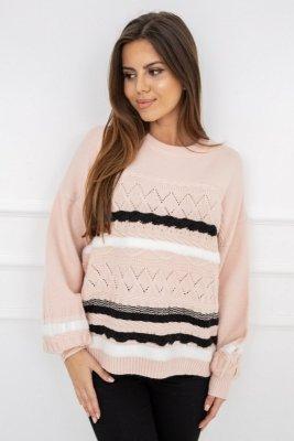 Sweter damski Vittoria Ventini Caroline Soft Pink G2538