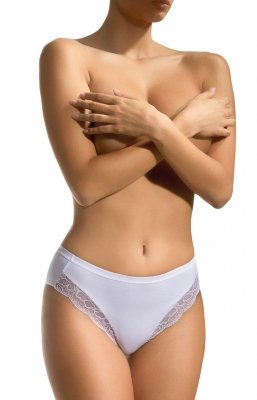 Figi damskie Babell Venus BBL 105 Białe