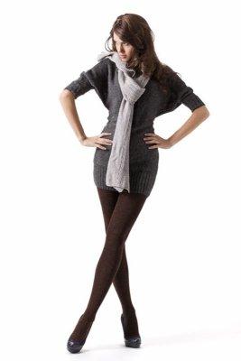 Rajstopy damskie Mona Cotton melange 350 den