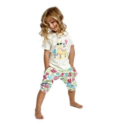 Piżama dziewczęca Cornette 480/81 Hola