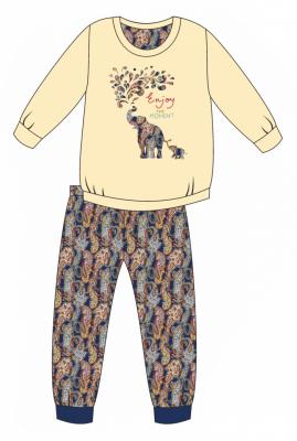 Piżama dziewczęca Cornette 594/133 Elephants