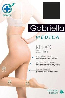Rajstopy Gabriella Medica Relax 20 DEN Code 110