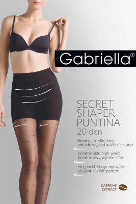 Rajstopy damskie Gabriella Secret Shaper Puntina 20 Den code 680