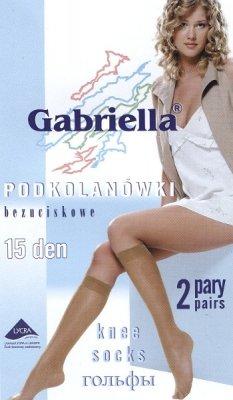 Podkolanówki Gabriella bezuciskowe 15 den A'2