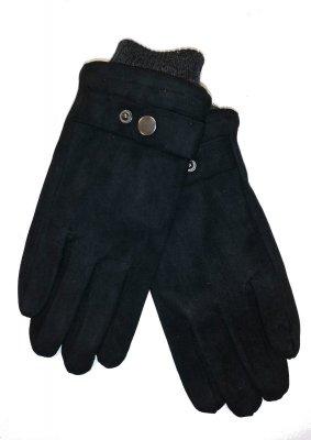 Rękawiczki męskie YO! R-152 Zamszowe