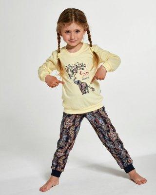 Piżama dziewczęca Cornette Young Girl 592/133 Elephants 134-164