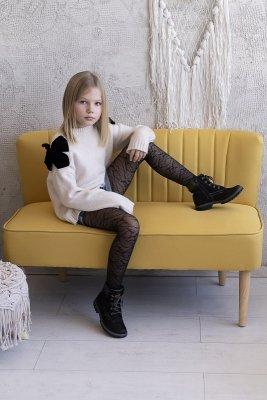 Rajstopy dziewczęce dziewczęce Knittex Lucy 20 den