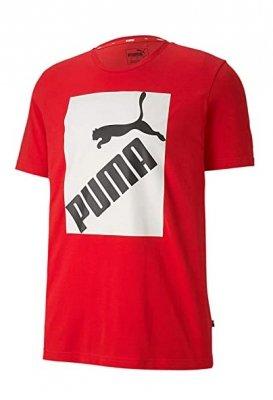 Koszulka męska męska Puma 581386 Big Logo Tee