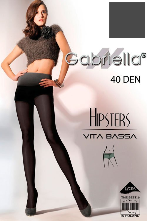 Rajstopy Gabriella Hipsters 40 Den Code 115