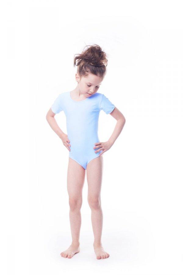 Body gimnastyczne lycra (B8) krótki rękaw Shepa