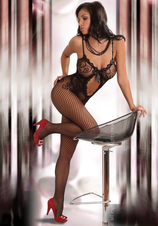 Bodystocking Magali black Livia Corsetti