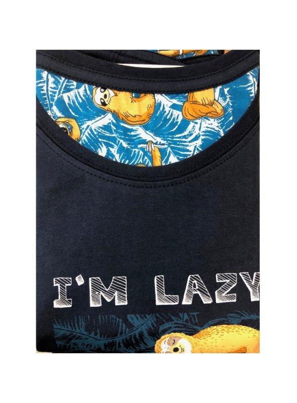 Piżama chłopięca Cornette F&Y 551/30 I'm Lazy