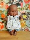 Miniland, lalka chłopiec, Afrykanczyk, 21cm, Miniland