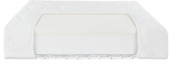 Fiki Miki, materac lateksowo - piankowo - gryczany, 120x60cm