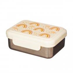 Sassandbell, metalowy lunch box tęcze