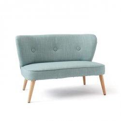 Kids Concept, sofa dla dzieci, błękitna