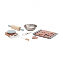 Kids concept, bistro, drewniany zestaw do pieczenia