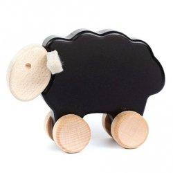 Bajo, drewniana owieczka na kółkach