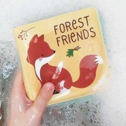 ALLC, książeczka kąpielowa, leśni przyjaciele