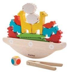 Plan Toys, gra zręcznościowa, balansująca arka Noego