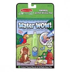 Melissa and Doug, wodna kolorowanka, Water wow, zwierzęta
