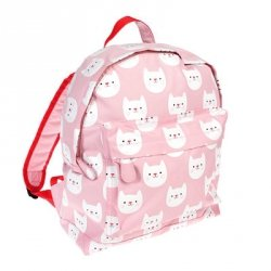 Rex, duży plecaczek, kotki różowy