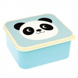 Rex, lunch box, panda