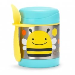 Skip hop, termos na posiłki, pszczółka