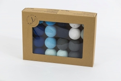 cotton balls blackness blue