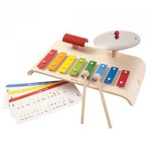 Plan Toys, drewniany zestaw muzyczny