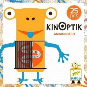 Djeco, Kinoptik, potworki, magnetyczna układanka kreatywna