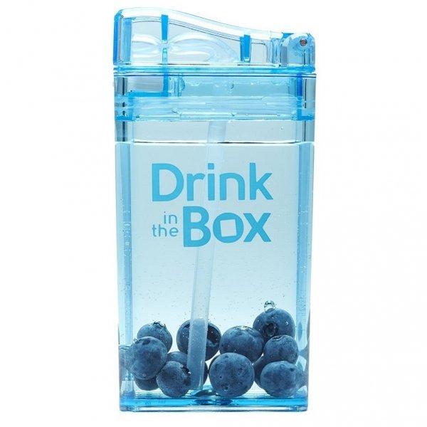 Drink in the box, niebieski, 240 ml,
