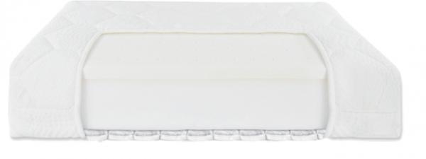 Fiki Miki, materac lateksowo - piankowo - gryczany, 120x60cm + nakładka higieniczna gratis.