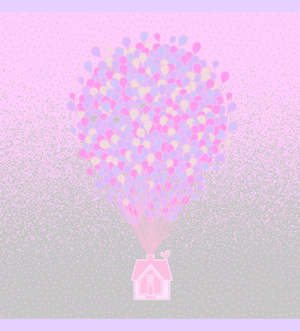 otulacz bambusowy, colorful baloons, świt