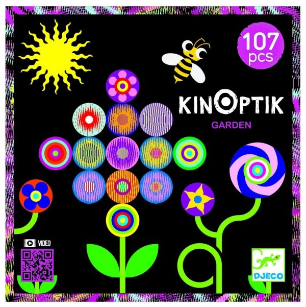 Djeco, układanka Kinoptik, ogród