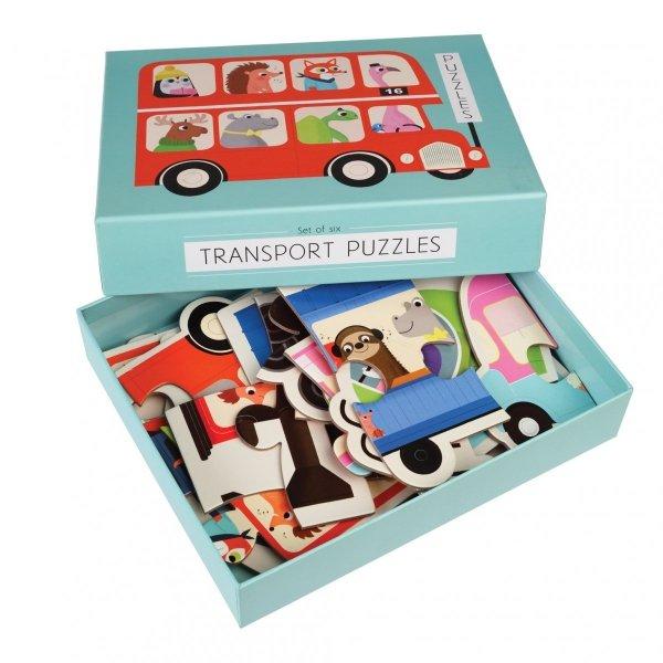 Rex, progresywne puzzle, transport