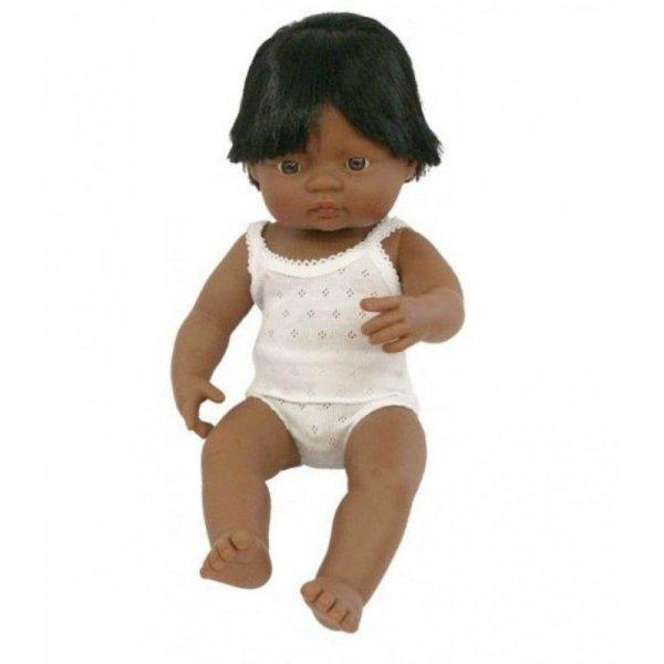 Miniland, lalka chłopiec, Latynos, 38cm