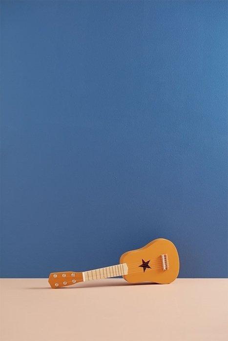 Kids Concept, gitara dla dziecka, żółta