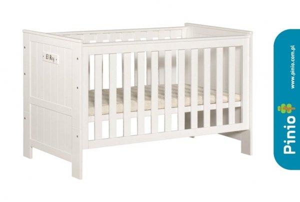 Pinio, uniwersalne łóżeczko-tapczanik,  Blanco, 140x70cm