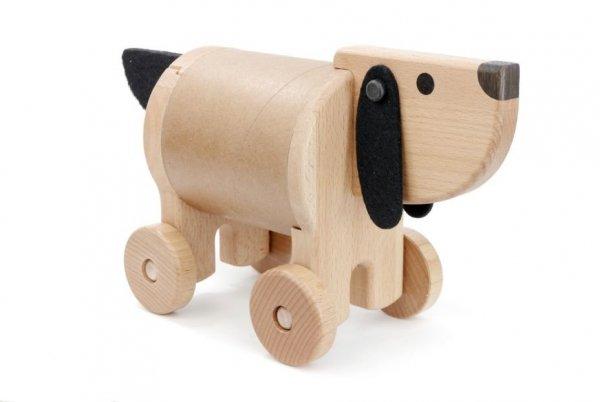 Bajo, drewniany piesek skrytka,