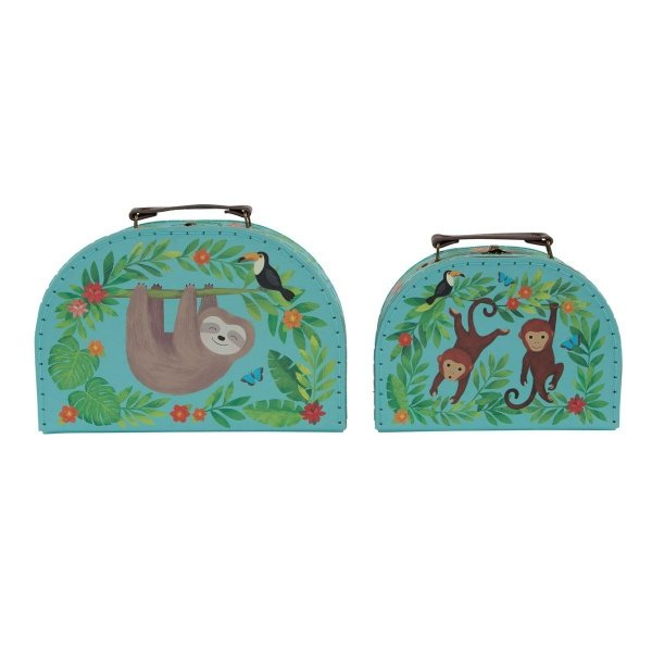 komplet 2 walizeczek - leniwce