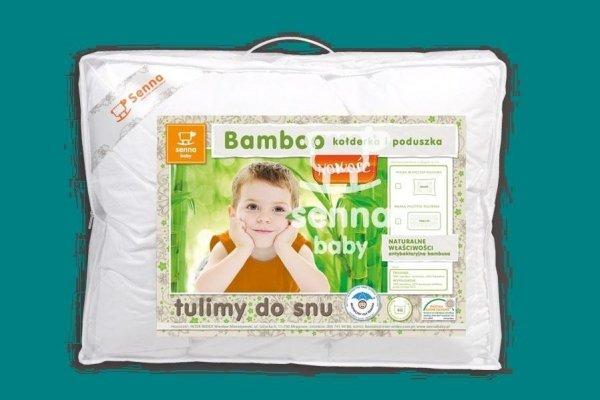 Senna baby, kołderka + poduszka, Bamboo
