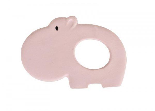 Tikiri, gryzak kauczukowy, hippo