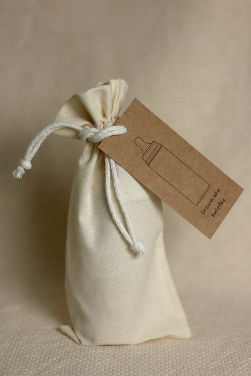 Miniland, drewniana butelka dla lalki, frappe