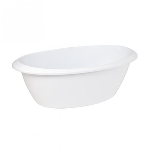 Luma, zestaw kąpielowy, 8 elem. biały snow white