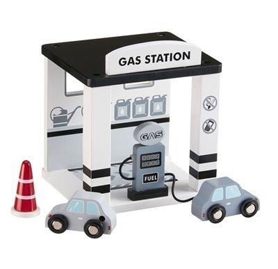 Kids Concept, drewniana stacja benzynowa,